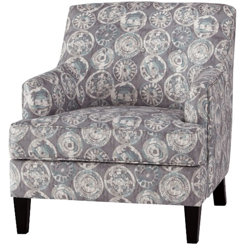 Signature Design by Ashley Adril Relaxed Vintage Accent Chair with Button Tufting