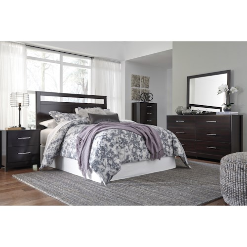 Signature Design by Ashley Agella Queen/Full Bedroom Group