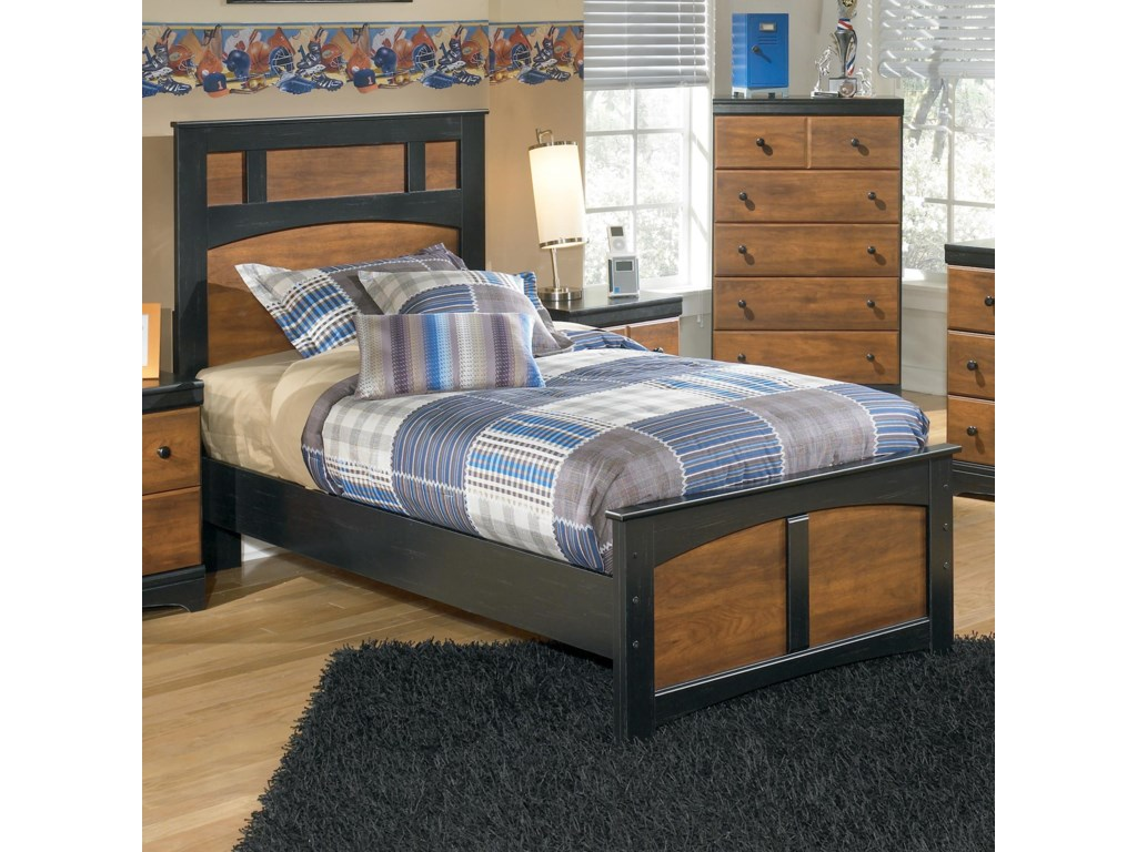 Signature Design by Ashley AimwellTwin Panel Bed