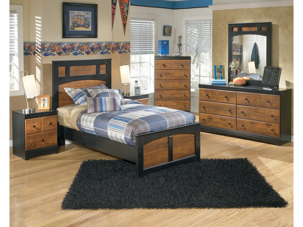 Ashley (Signature Design) AimwellTwin Panel Bed