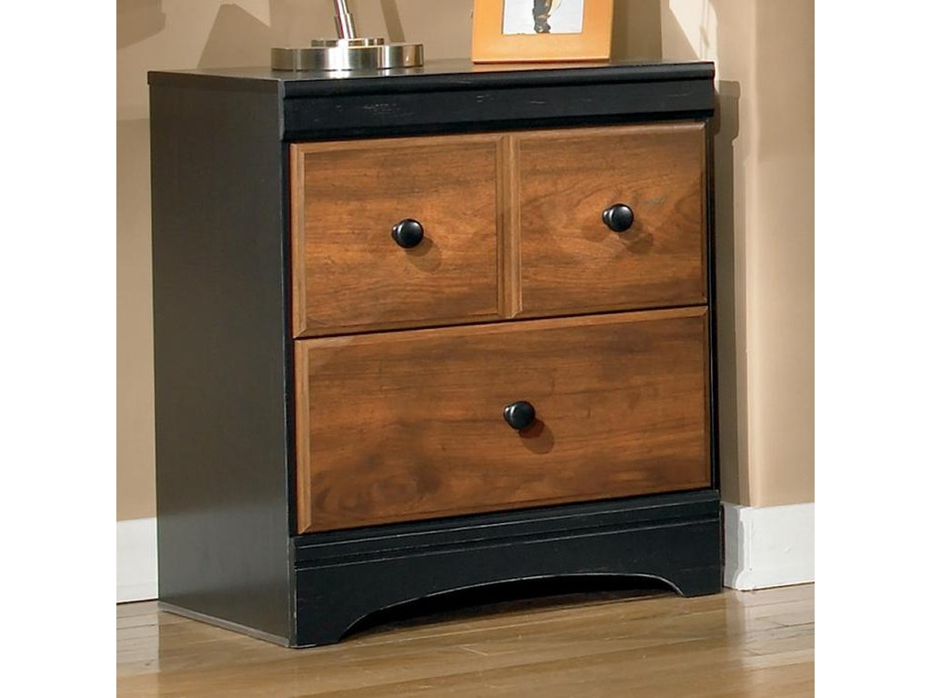 Signature Design by Ashley Aimwell2-Drawer Nightstand in Two-Tone Finish
