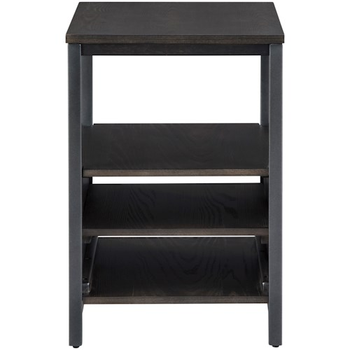 Signature Design by Ashley Airdon Contemporary Chairside End Table