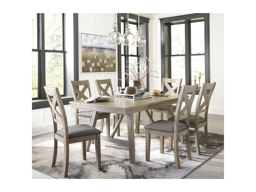 Signature Design by Ashley Aldwin7-Piece Dining Set