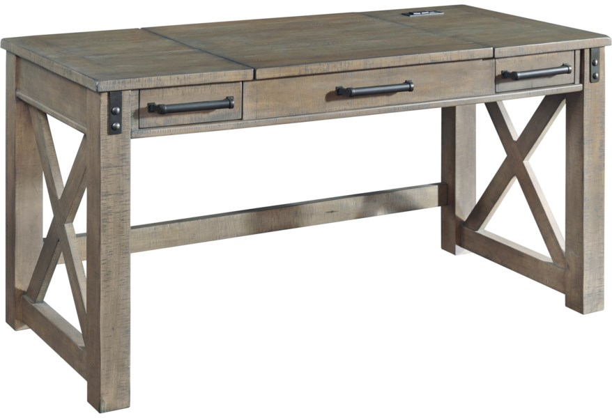 H837 54 Home Office Lift Top Desk