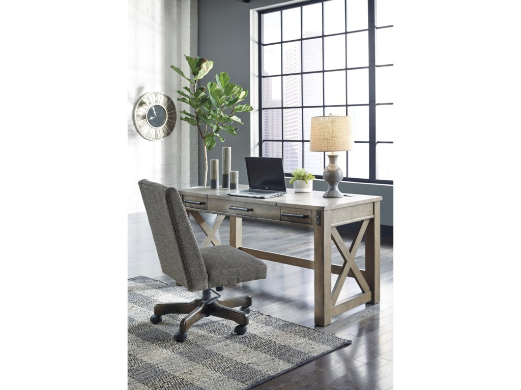 Signature Design by Ashley AldwinHome Office Lift Top Desk