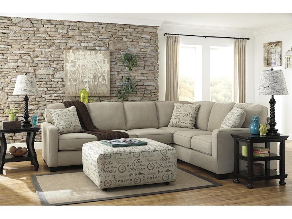 Ashley (Signature Design) Alenya - QuartzStationary Living Room Group