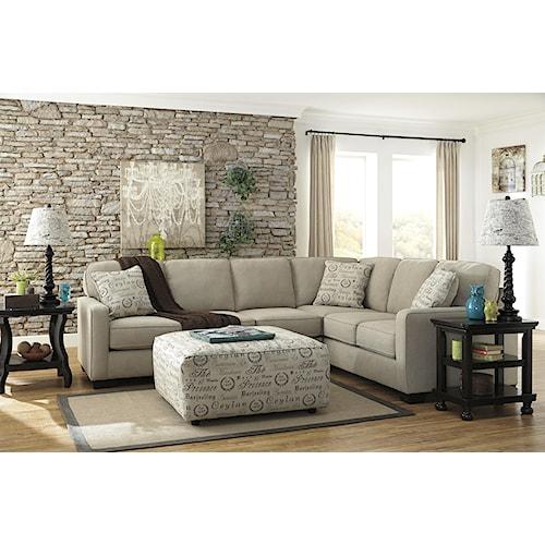 Signature Design by Ashley Alenya - Quartz Stationary Living Room Group
