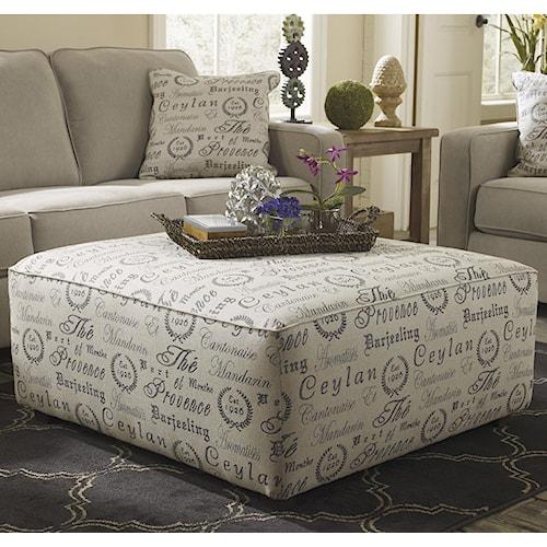 Ottoman Style Living Room: Signature Design By Ashley Alenya