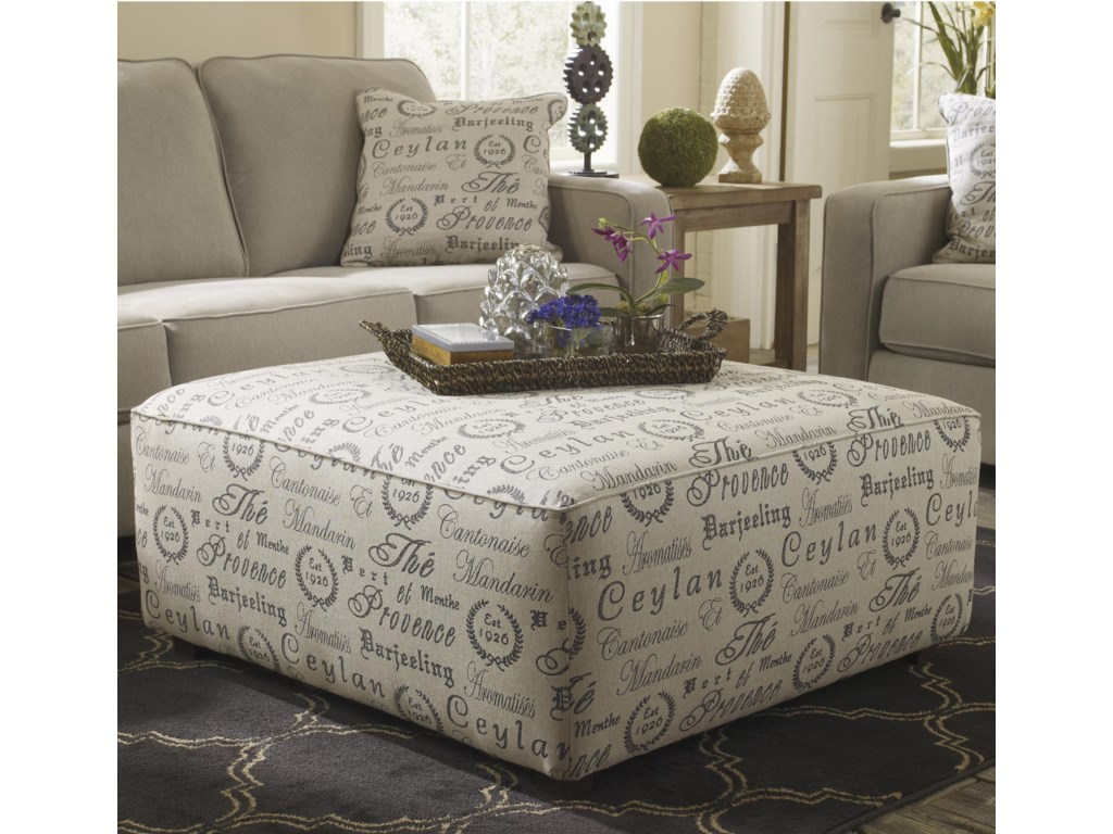 Signature Design by Ashley Alenya - QuartzOversized Accent Ottoman
