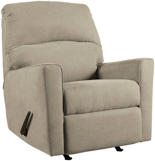 Signature Design by Ashley Alenya - Quartz Contemporary Rocker Recliner