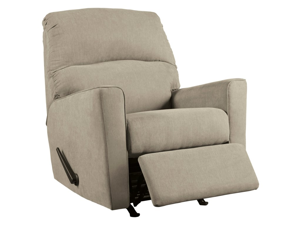 Signature Design by Ashley Alenya - QuartzRocker Recliner