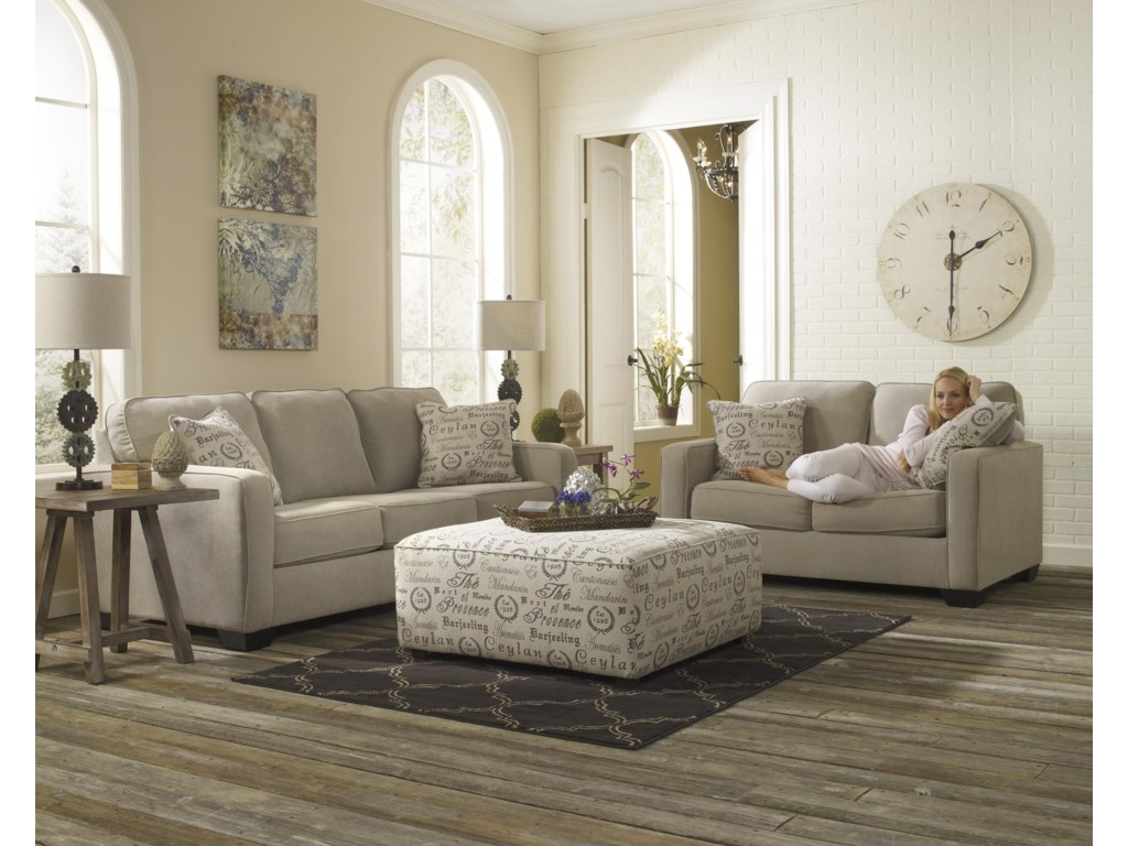 Ashley (Signature Design) Alenya - QuartzLoveseat