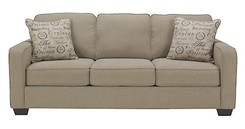 Signature Design by Ashley Alenya - Quartz Contemporary Track Arm Sofa