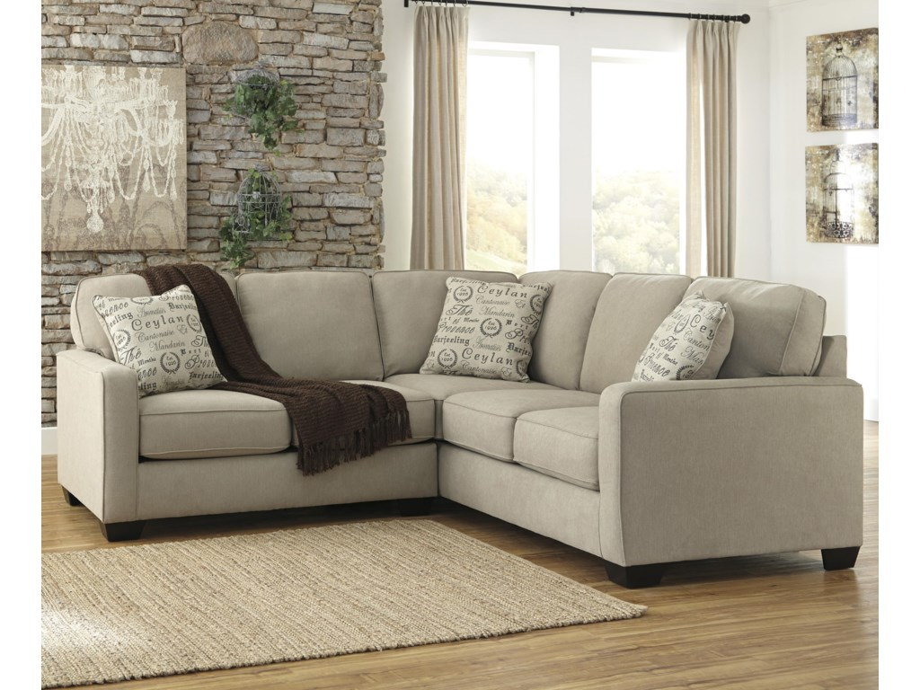 Signature Design by Ashley Alenya QuartzSectional