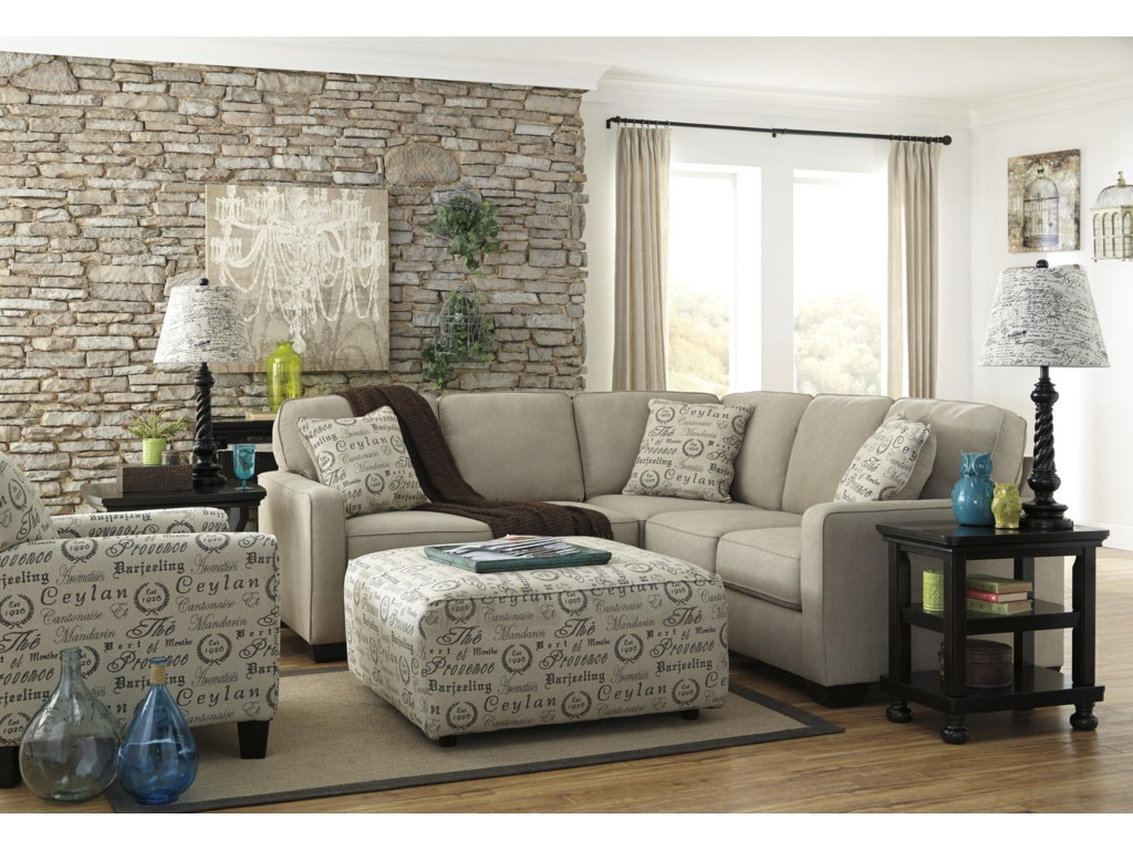 Signature Design by Ashley Alenya - Quartz2-Piece Sectional with Left Loveseat