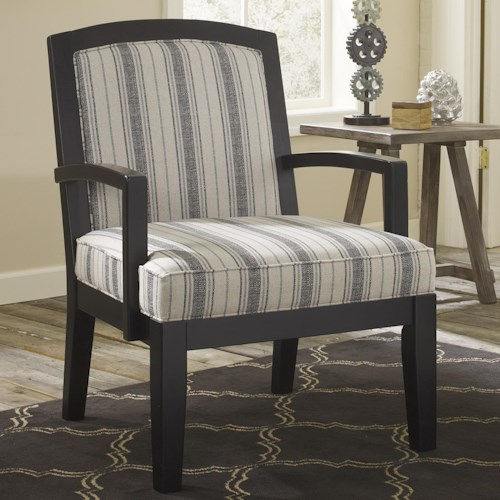 Signature Design by Ashley Furniture Alenya - Quartz Accent Chair w/ Exposed Wood