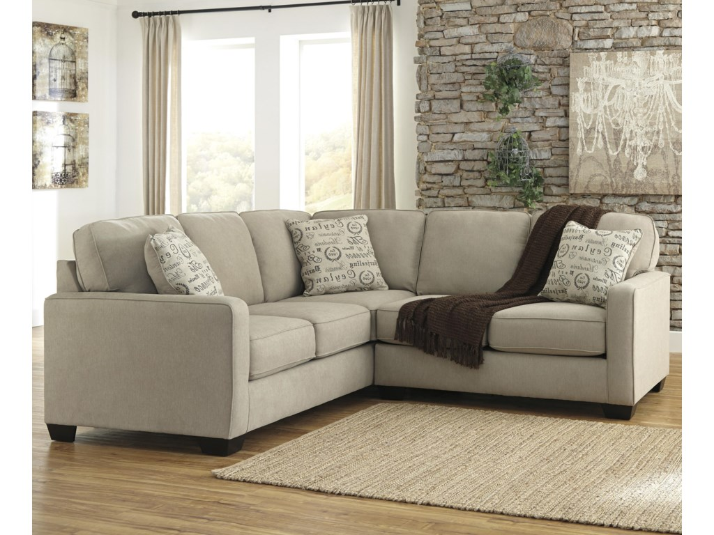 Signature Design by Ashley Alenya - Quartz2-Piece Sectional with Right Loveseat