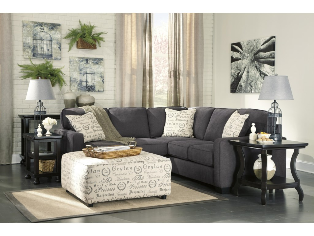 Ashley Signature Design Alenya - CharcoalStationary Living Room Group