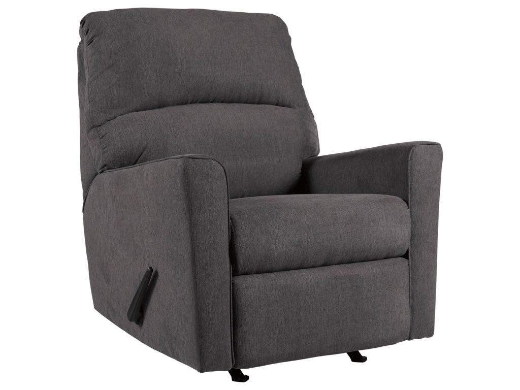 Signature Design by Ashley Alenya - CharcoalRocker Recliner