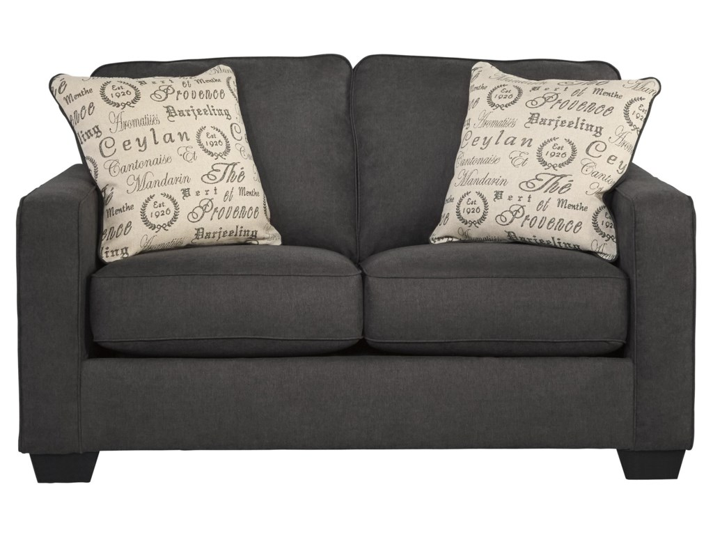 Ashley (Signature Design) Alenya - CharcoalLoveseat