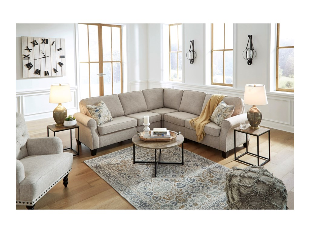 Signature Design by Ashley AlessioL-Shape Sectional