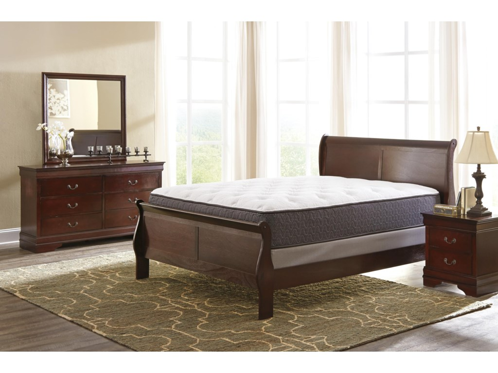 Signature Design by Ashley AlisdairFull Sleigh Bed Package