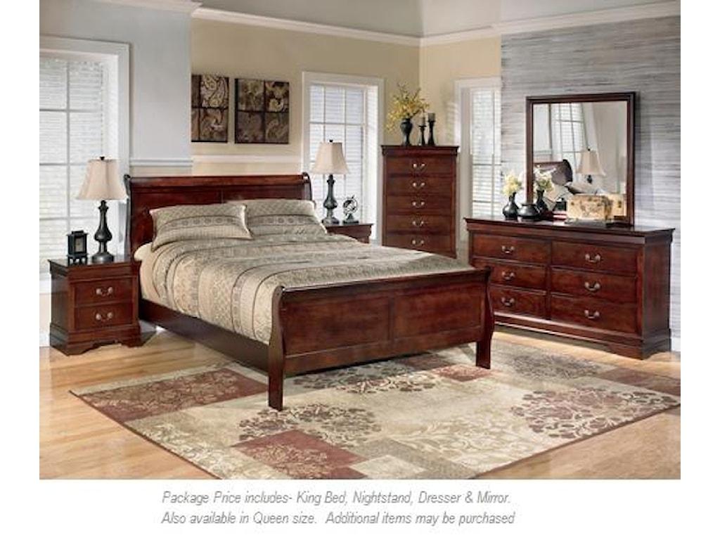 Signature Design by Ashley Alisdair4pc King Bedroom