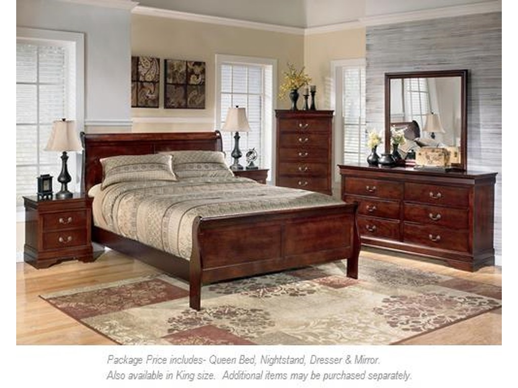 Signature Design by Ashley Alisdair4PC Queen Bedroom