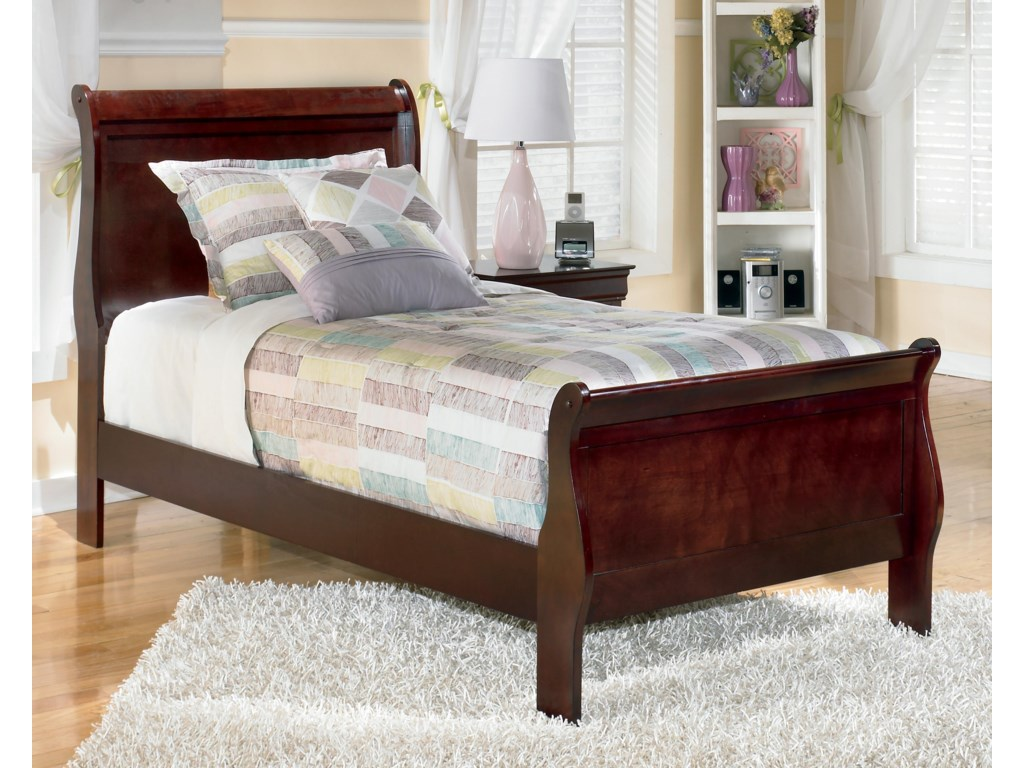 Signature Design AlisdairTwin Sleigh Bed