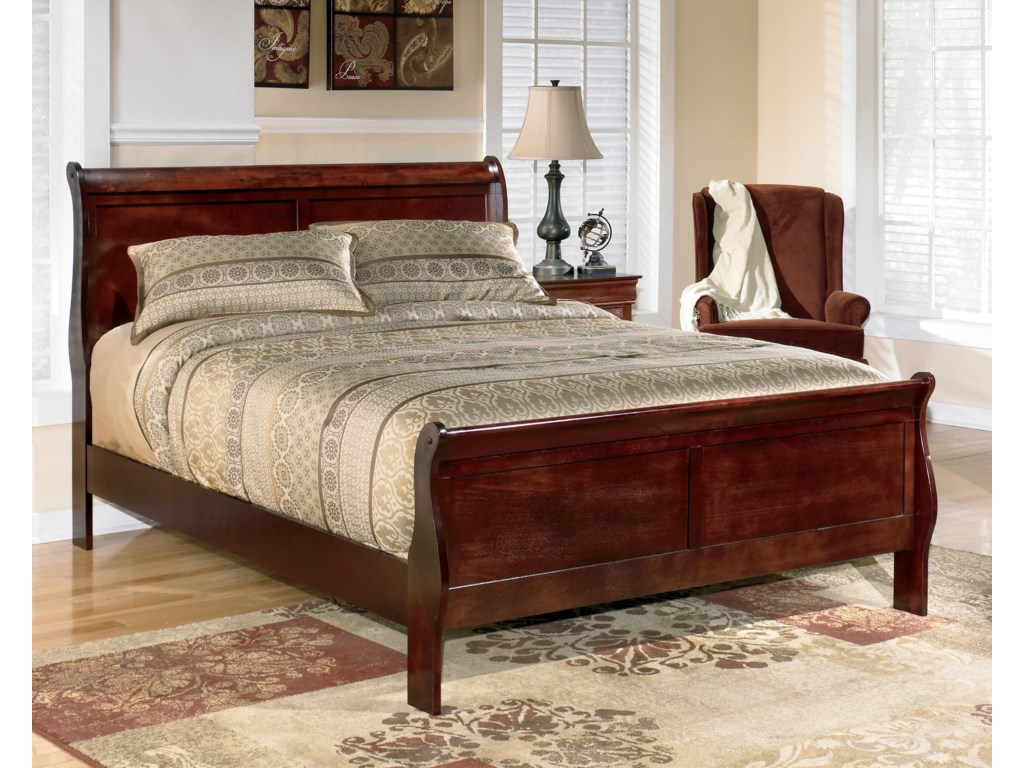 Ashley (Signature Design) AlisdairKing Sleigh Bed