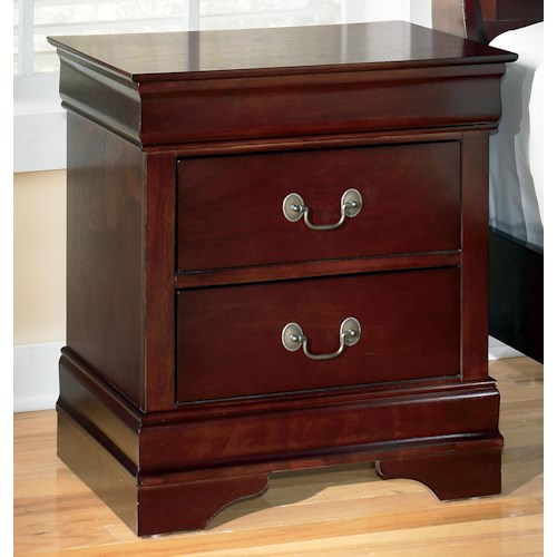 Signature Design by Ashley Alisdair Two Drawer Night Stand