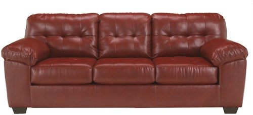 Signature Design by Ashley Alliston DuraBlend® - Salsa Queen Sofa Sleeper w/ Tufting