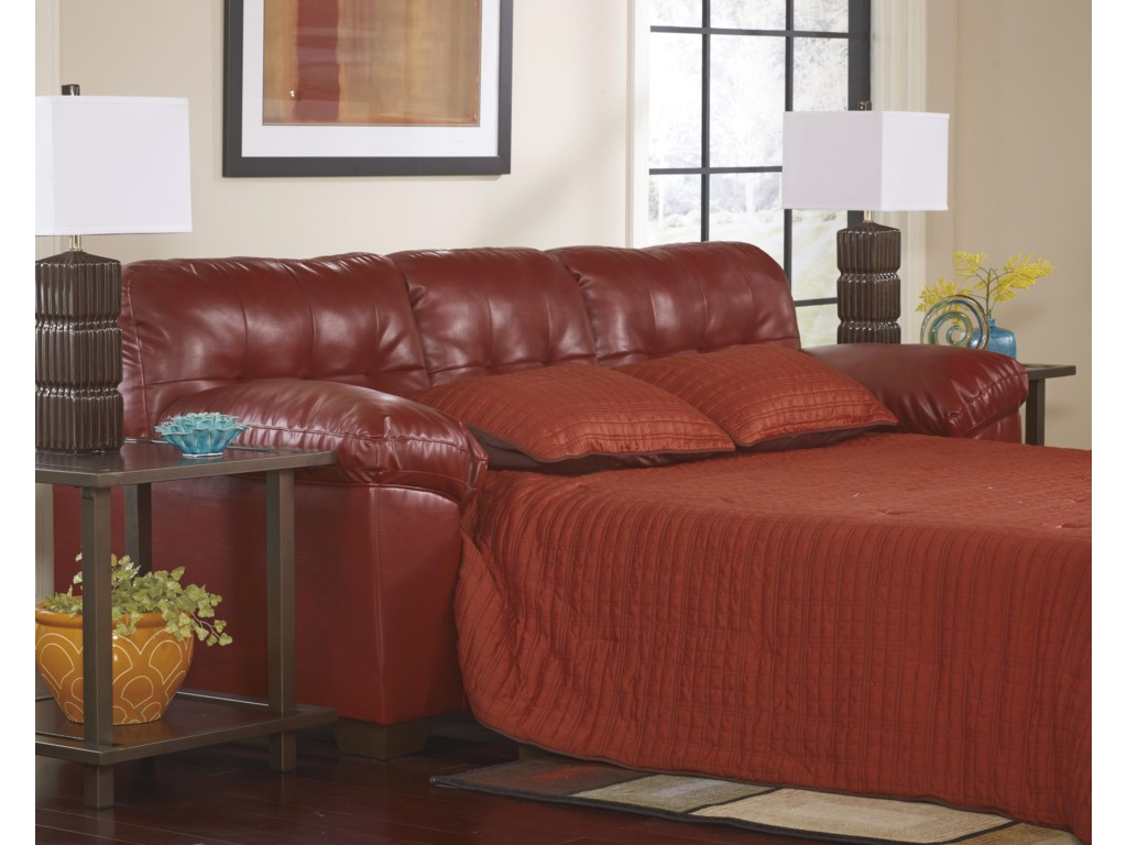 Ashley (Signature Design) Alliston DuraBlend® - SalsaQueen Sofa Sleeper