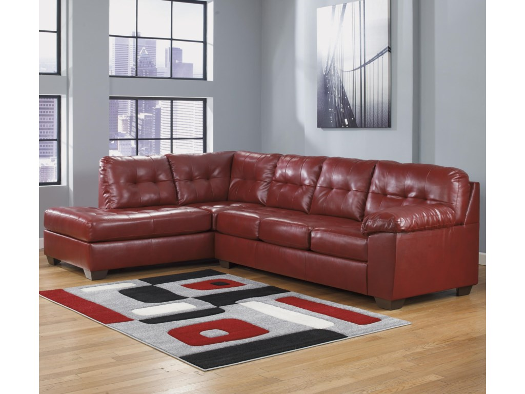 Signature Design by Ashley Alliston DuraBlend® - SalsaSectional w/ Left Chaise