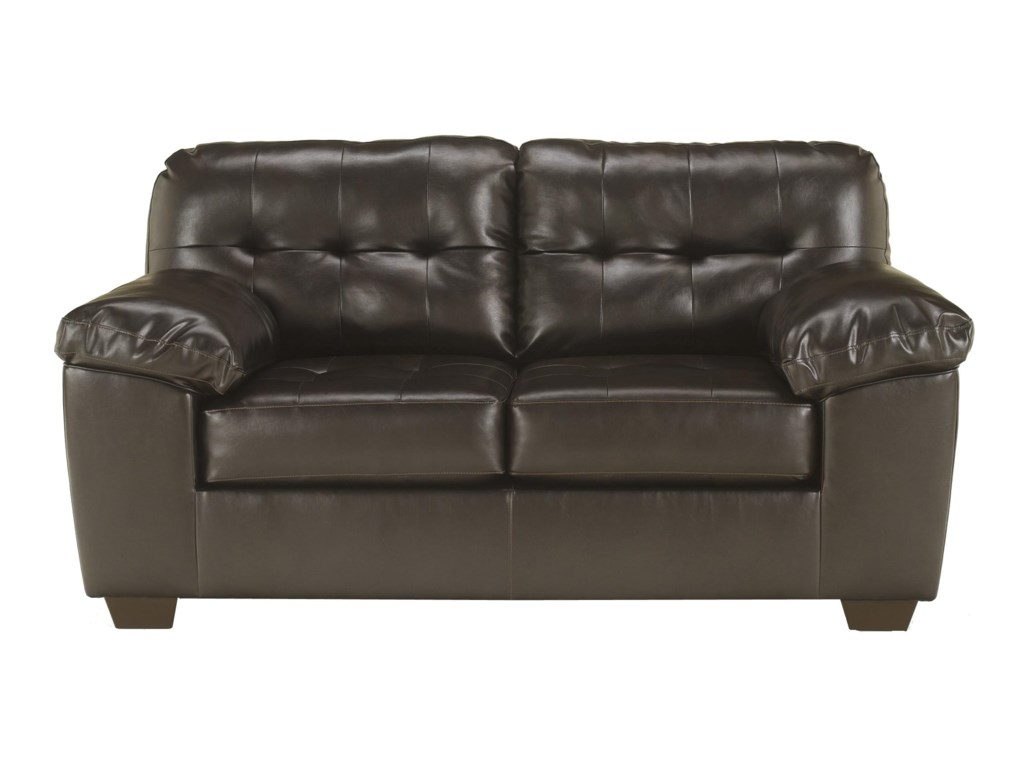 Ashley (Signature Design) Alliston DuraBlend® - ChocolateLoveseat