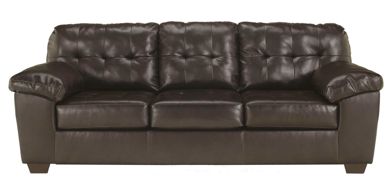 Contemporary Sofa w/ Pillow Arms