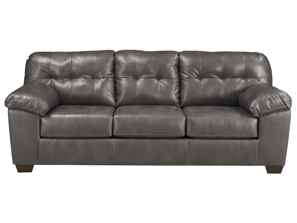 Signature Design by Ashley Alliston DuraBlend® - GrayQueen Sofa Sleeper
