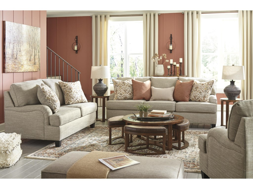 Signature Design by Ashley AlmanzaSofa, Loveseat and Chair Set