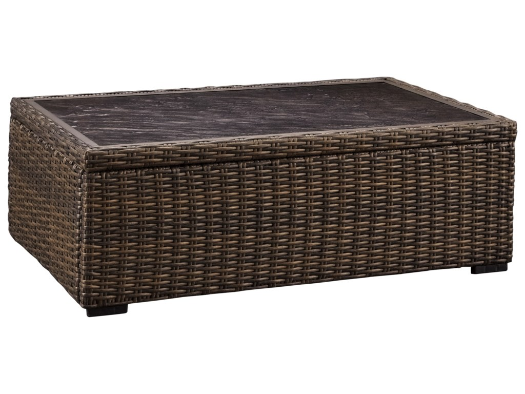 Ashley (Signature Design) Alta GrandeRectangular Cocktail Table