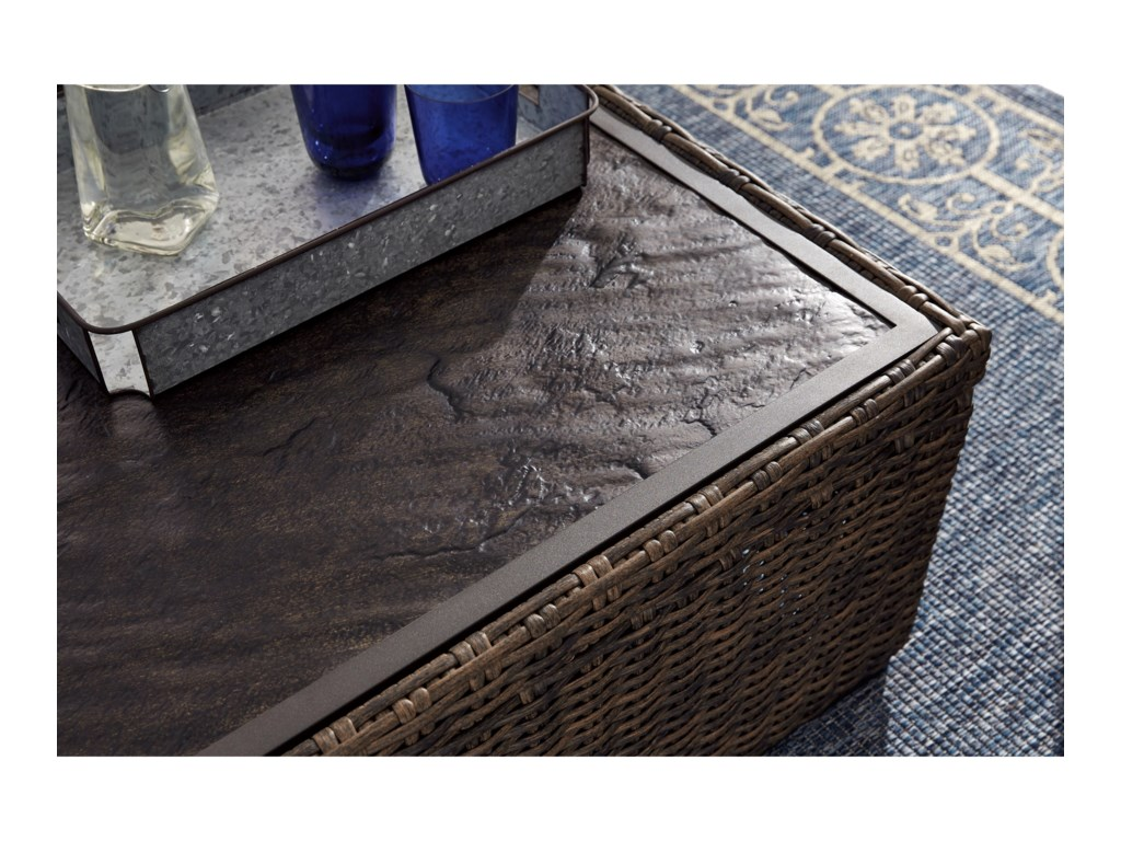 Signature Design by Ashley Alta GrandeRectangular Cocktail Table