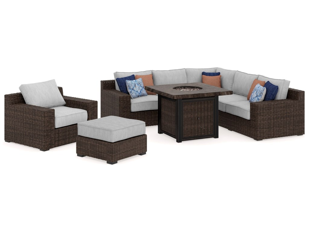 Signature Design by Ashley Alta GrandeOutdoor Conversation Set