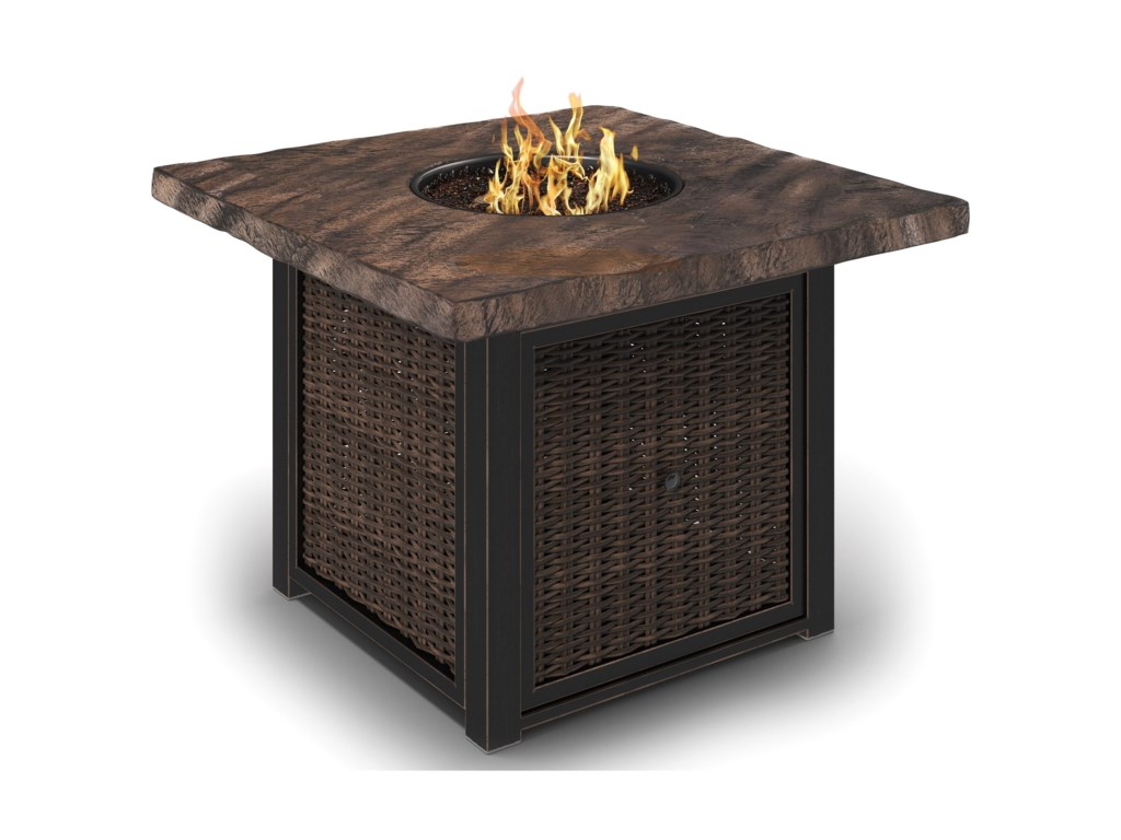 Signature Design by Ashley Alta GrandeSquare Fire Pit Table