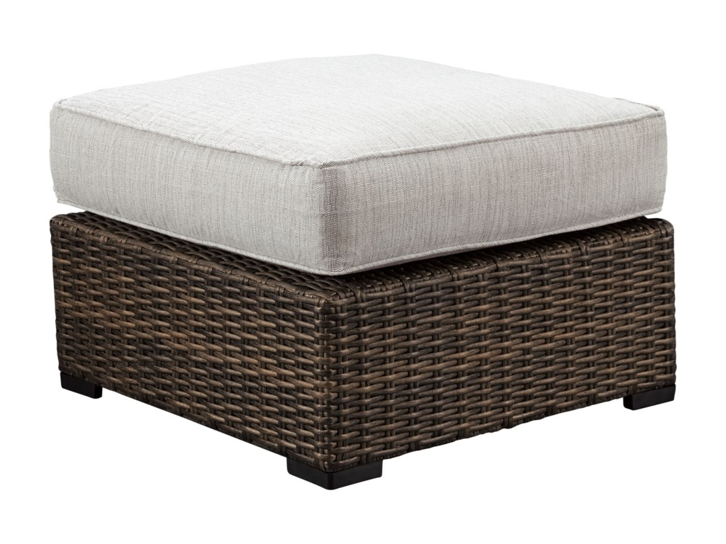 Signature Design Alta GrandeOttoman with Cushion