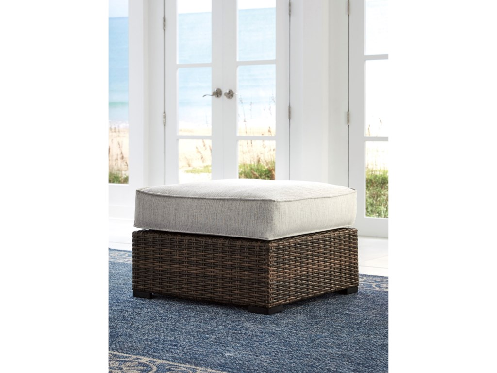 Ashley (Signature Design) Alta GrandeOttoman with Cushion