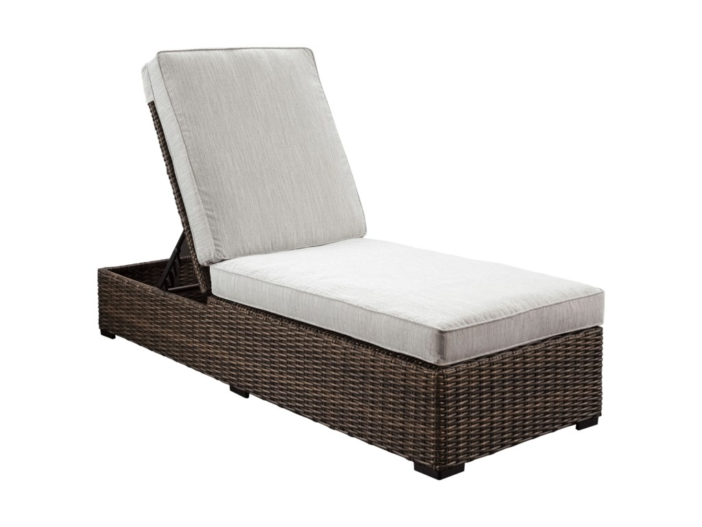 Trendz Woven ParadiseChaise Lounge with Cushion