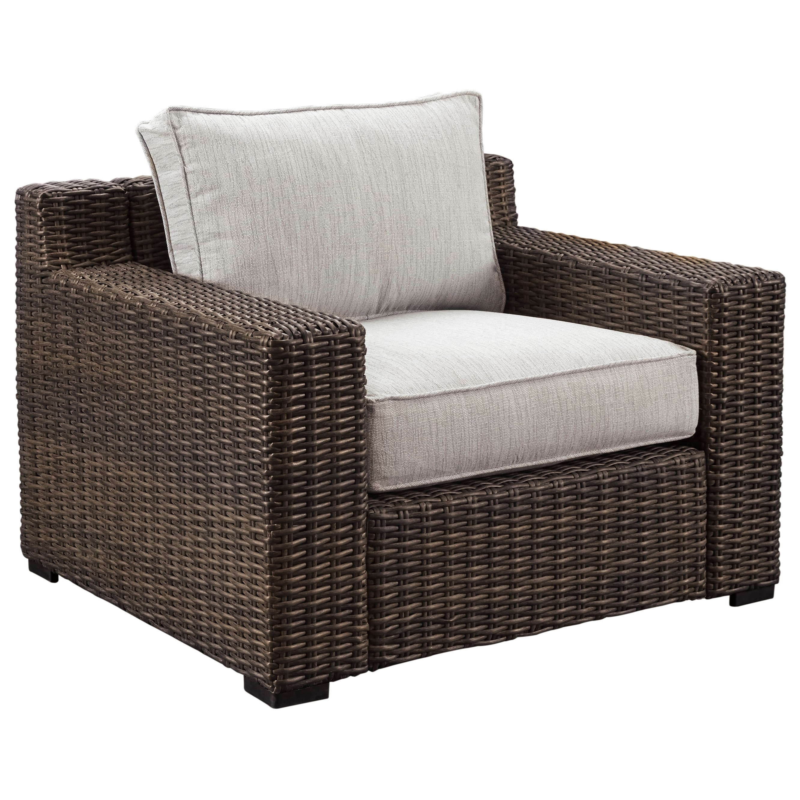 Charmant Signature Design By Ashley Alta Grande Lounge Chair With Cushion