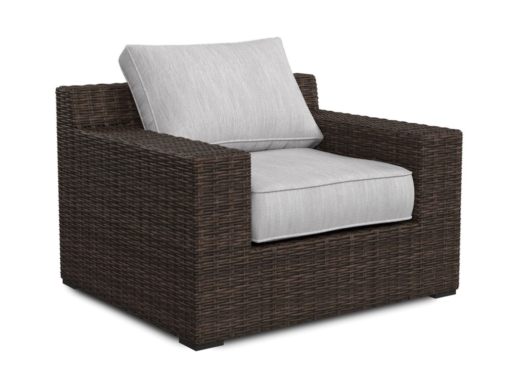 Trendz Woven ParadiseLounge Chair with Cushion