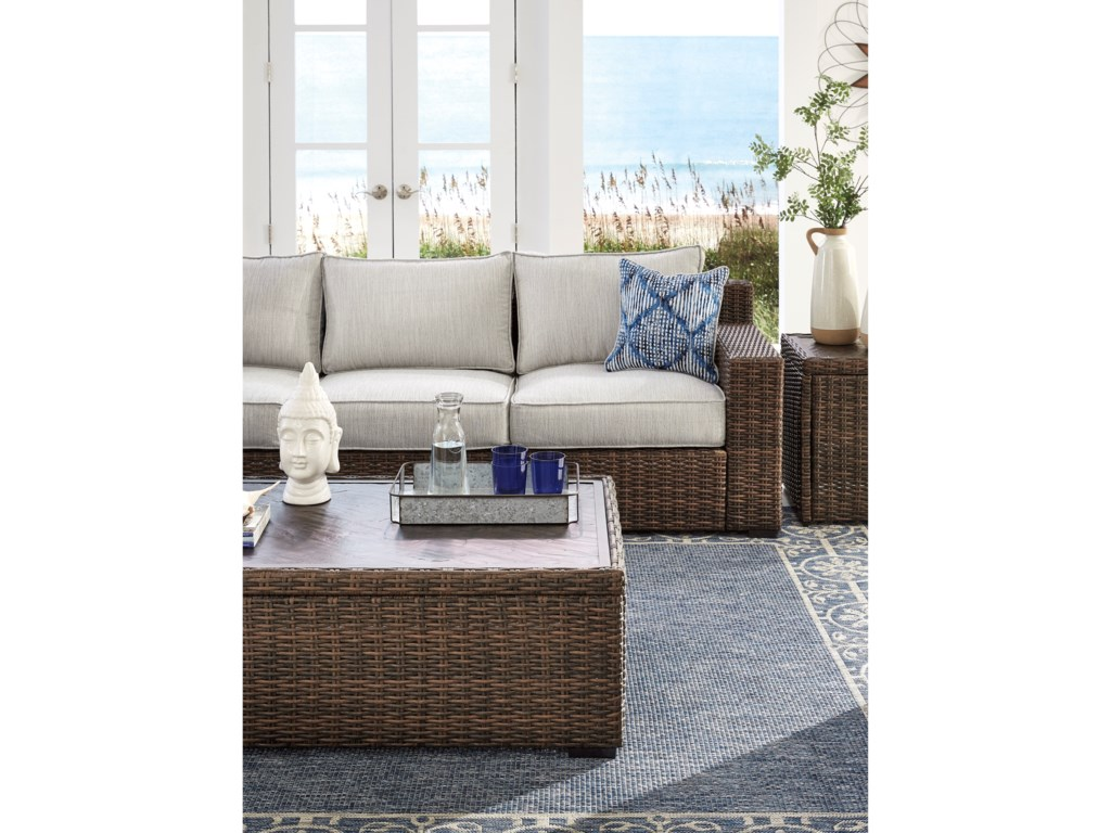 Trendz Woven ParadiseSofa with Cushion