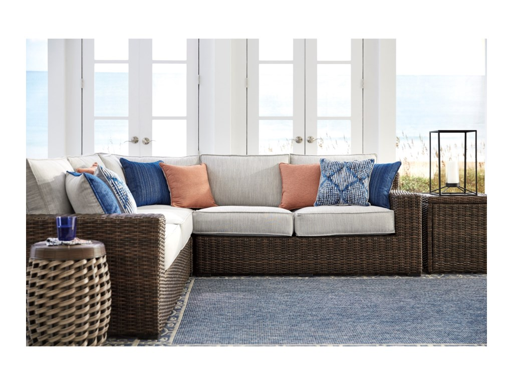 Signature Design by Ashley Alta GrandeOutdoor Sectional