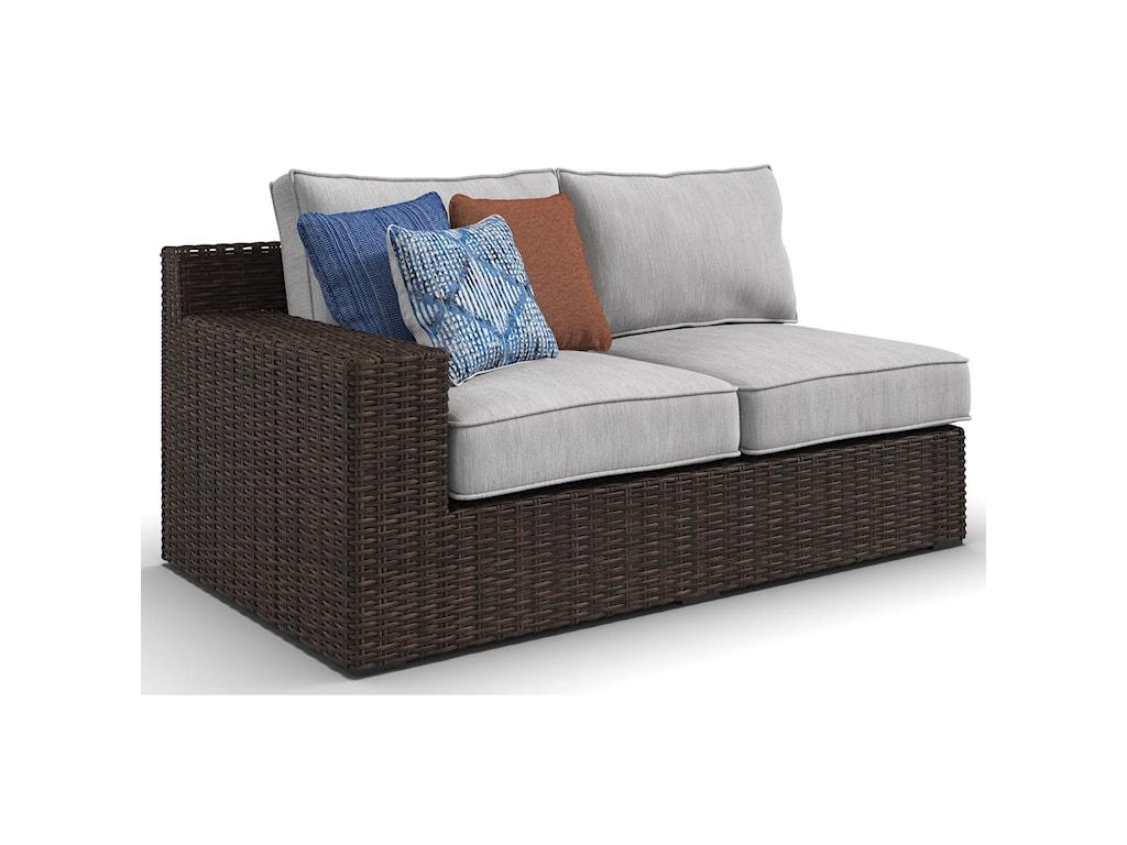 Ashley (Signature Design) Alta GrandeRAF Loveseat & LAF Loveseat with Cushion